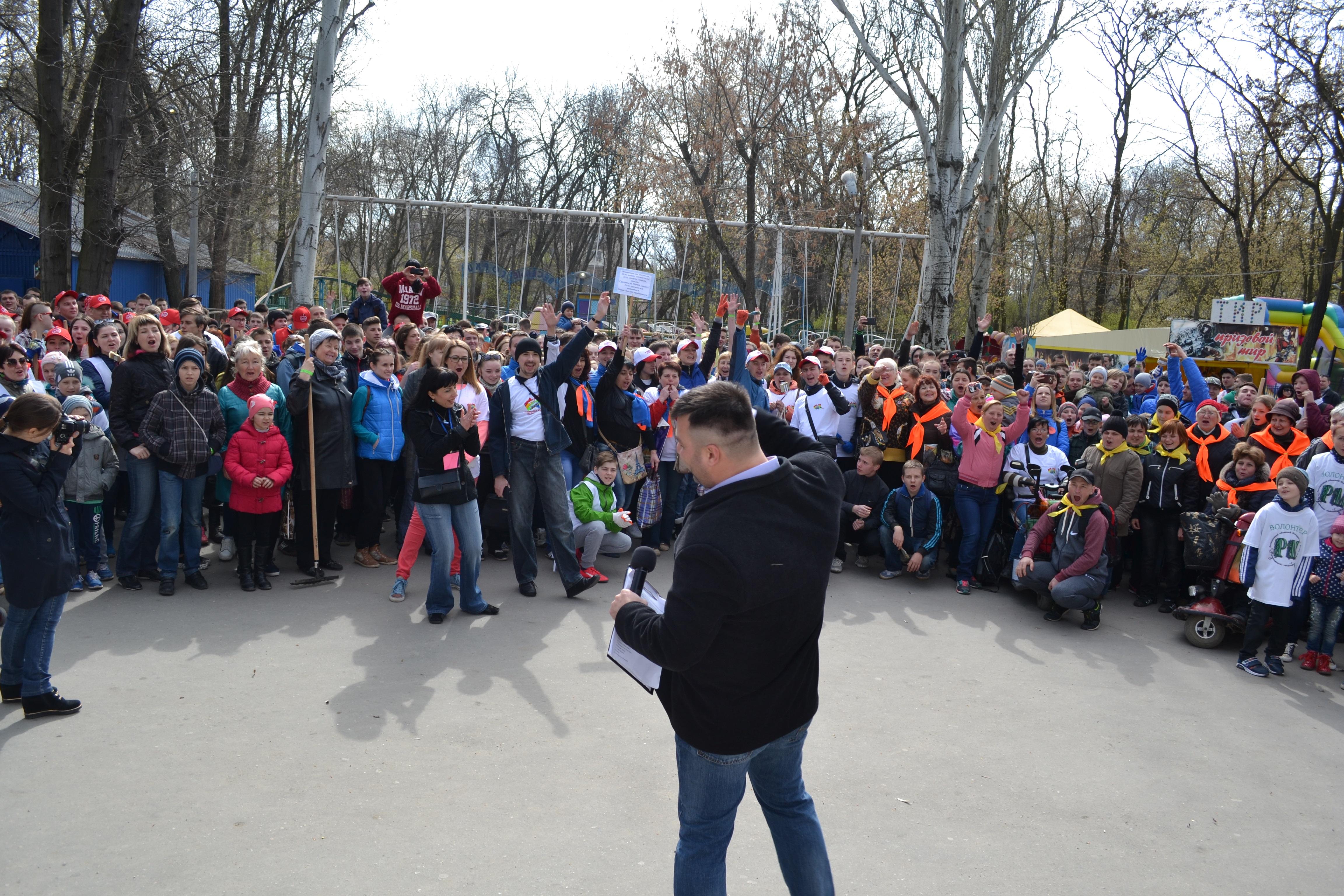 Мелитопольцы сообща облагородили парк во время «Том Сойер Fest»