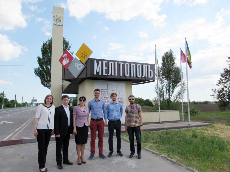 В Мелитополь приехали польские гости