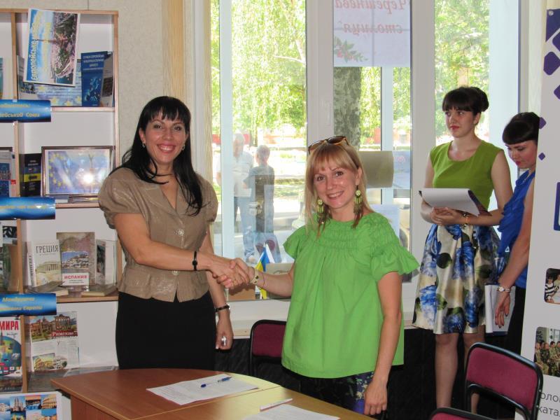 В Мелитополе презентовали проект по картированию громад