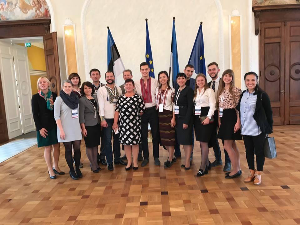 Навчальна поїздка до Естонії Побудова е-суспільства та залучення громадськості