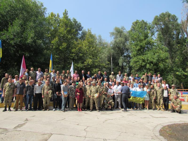 37-й батальон отметил третью годовщину создания