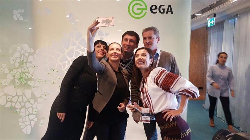 Об электронной демократии и правительстве в Эстонии, в академии электронного правительства (eGA) с украинской командой Яника Мерило
