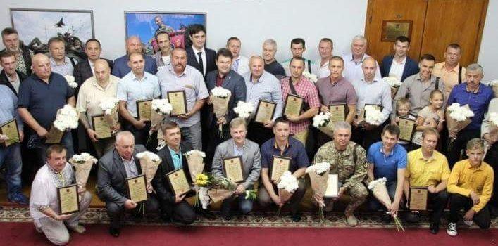 Вчера в Запорожье подвели итоги конкурса «Отец года»