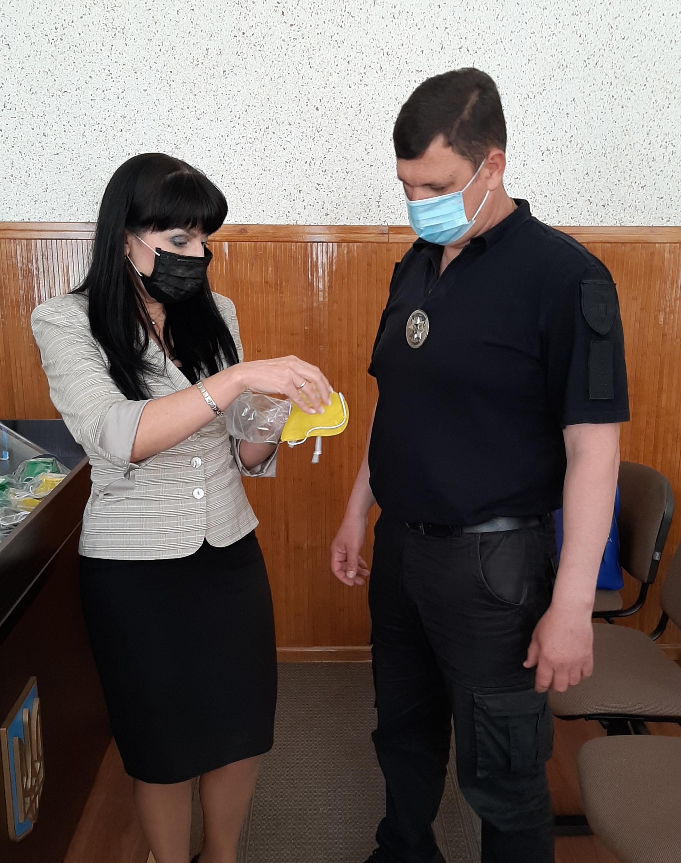 Полиции передали защитные средства, напечатанные 3D-принтером